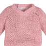 PNS Long Sleeve V Neck Sweater (Strawberry Pink) (Fashion Doll)