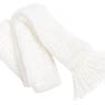 PNS Wool Scarf (White) (Fashion Doll)