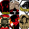 Imaging Rubber Collection [Metal Gear Solid V:The Phantom Pain] 6 pieces (Anime Toy)
