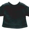 Basic T-shirt (Black) (Fashion Doll)