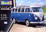 VW Type 2 T1 Samba Bus (Plastic model)