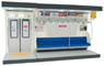 (1/12) Interior Model Series Commuter Train (Blue Seat Type) (Model Train)