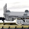 J.R. Container Wagon Type KOKI106 (Gray/without Container/with Tail Light) (Model Train)