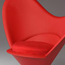 Super Duck 1/6 Chair Red (Fashion Doll)