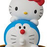 UDF DORAEMON meets HELLO KITTY DORAEMON × HELLO KITTY & 通り抜けフープ (完成品)