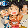 Figuarts Zero Luffy, Ace and Sabo -Promise of Sworn Brother- (PVC Figure)