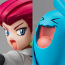 G.E.M. Series Pokemon Jessie & Wobbuffet (PVC Figure)