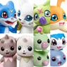 Digimon Adventure Digicolle! Data 3 (Set of 8) (Character Toy)