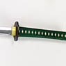 Obitsu Buso No.1 [Katana] Green Helve x Black Scabbard (Fashion Doll)