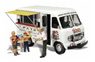 AS5338 (N) Ike`s Ice Cream Truck (Mobile Catering: Ice Cream Shop) (Model Train)