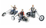 AS5344 (N) Bad Boy Bikers (Bad Biker Men) (3pcs.) (Model Train)