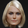 DS Toys 1/6 Europeans and Americans Beautiful Female Head A (Fashion Doll)