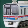 Keisei Type 3400 (Single Arm Pantograph Car) Four Middle Car Set for Additional (Trailer Only) (Add-On 4-Car Set) (Pre-colored Completed) (Model Train)