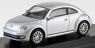 VW The Beetle 2012 Silver Metallic (Diecast Car)