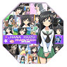 Girls und Panzer Desktop Mini Umbrella Hana Isuzu (Anime Toy)
