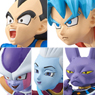 Yura Cole Series Dragon Ball Super (Set of 5) (PVC Figure)
