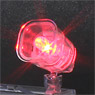 Plastic Accessory 02 [LED Light Clear Ver. (Red)] (Plastic model)