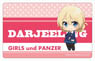Girls und Panzer the Movie Plate Badge Puni Chara Darjeeling (Anime Toy)