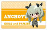 Girls und Panzer the Movie Plate Badge Puni Chara Anchovy (Anime Toy)