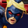 Hdge Technical Statue No.10 Ultra Street Fighter IV Decapre (PVC Figure)