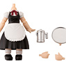 Cu-poche Extra Waitress Body Long Length (Black) (PVC Figure)