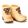 Short Boots for 11cm Body (Worm Beige) (Fashion Doll)