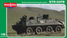 Soviet Armoured Personnel Carrier BTR-60PB (MicroMir Brand MM48012) (Plastic model)
