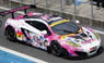 PACIFIC McLaren with μ`s SUPER GT300 2015 No.9 ホワイト/ピンク (ミニカー)