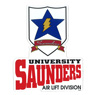 Girls und Panzer the Movie Saunders University High School Air Lift Division Magnet (Anime Toy)