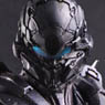 Halo 5: Guardians Play Arts Kai Spartan Locke (PVC Figure)