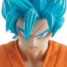 Dimension of Dragonball SSGSS Son Goku (PVC Figure)