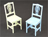 1/12 Retro Chair Set A 2 Pieces (Fashion Doll)