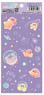 Kirby`s Dream Land Pupupu Na Milky Way Clear Seal Lavender (Anime Toy)