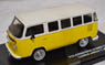 1976 volkswagen combi panel van - yellow/white with black interior