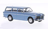 1966 volvo 220 amazone - blue-grey with brown-beige interior