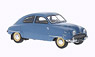 1954 saab 92b, light blue with blue & beige interior (Diecast Car)