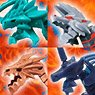 Honehone Zaurus x Monster Hunter Another Color Edition (Set of 8) (Shokugan)