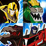 Transformers: Robots in Disguise Gum (Set of 8) (Shokugan)