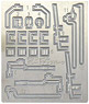 Photo-Etched Grade Up Parts for Arida Railway (Aritetsu) Koppel #1 (Model Train)