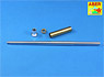 German King Tiger Late Type Gun Barrel without/Muzzle (Trumpeter) (Plastic model)