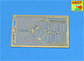 German Tiger II Porsche Turret Type Engine Net (Tamiya) (Plastic model)