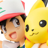 G.E.M. Series Pokemon Ash Ketchum, Pikachu, and Charmander (PVC Figure)