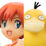 G.E.M. Series Pokemon Misty, Togepi, and Psyduck (PVC Figure)