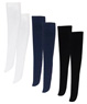 PNS Knee High Socks Set (Black/Navy/White) (Fashion Doll)