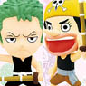Anime Chara Heros One Piece Chapter of Early Life vol.2 (Set of 15) (PVC Figure)