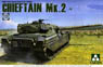 British Main Battle Tank Chieftain Mk.2 (Plastic model)