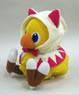Chocobo`s Mystery Dungeon White Mage Chocobo Plush (Anime Toy)