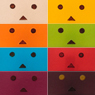 Danboard nano `Jelly Beans` (Set of 10) (PVC Figure)