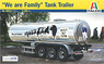 Classic Tank Trailer `We Are Family` (Model Car)