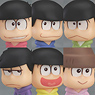 Osomatsu-san Trading Figures (Set of 6) (PVC Figure)